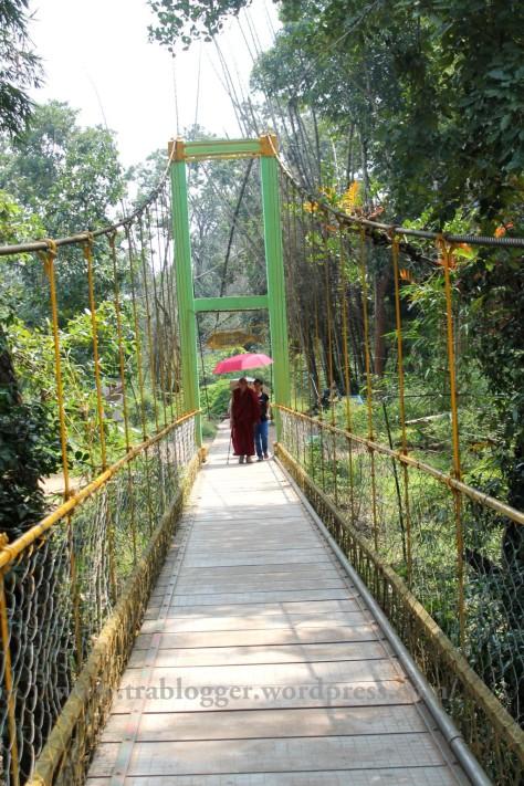 Nisargadhama, hangiing bridge, coorg