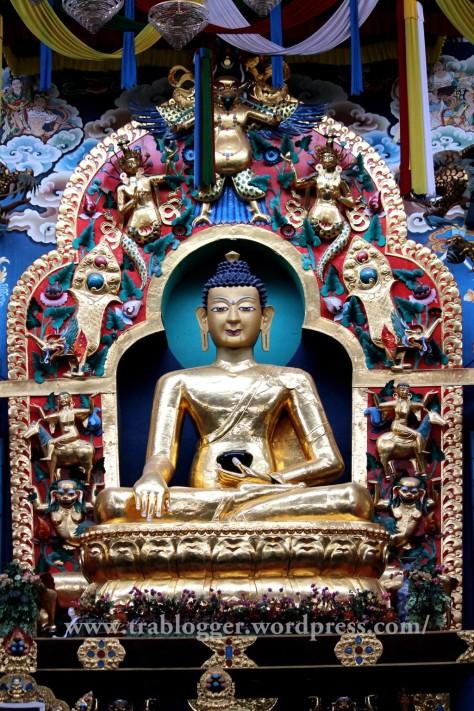 The smiling Buddha