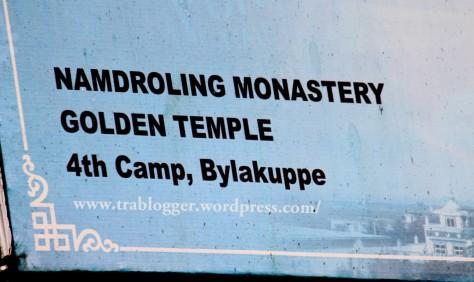 Namdroling Monastery coorg golden temple