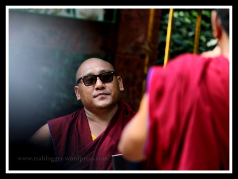 portrait, coorg, monk, photography