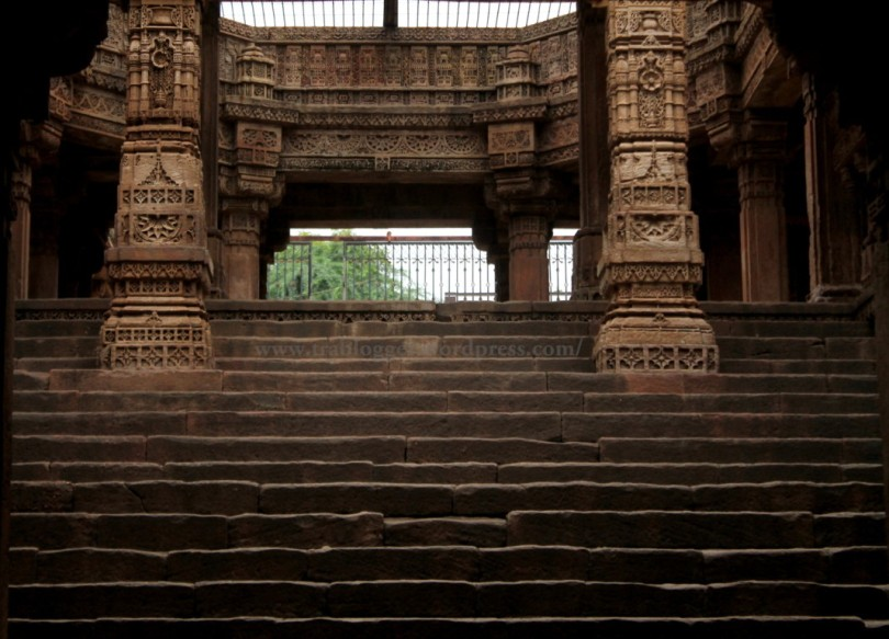 photography steppwell adalaj gujarat