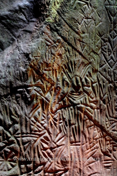 Closer look into the carvings