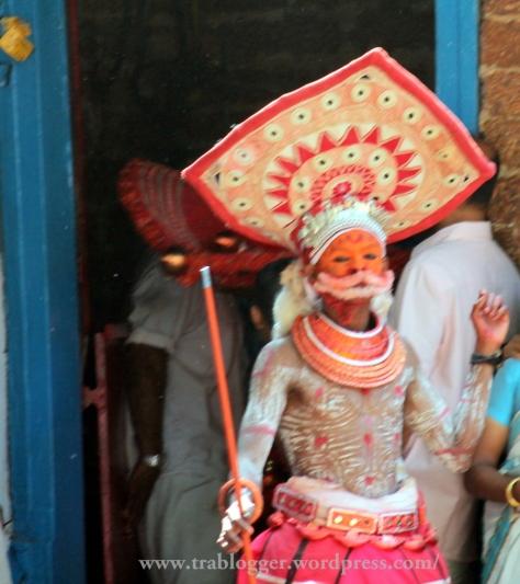 Hanuman searching for Sugriva