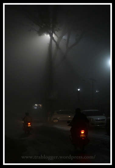 Night Photography, coorg, fog,