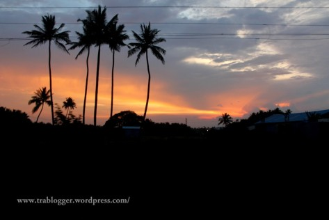 coimbatore, twilight, evening sun, sun set