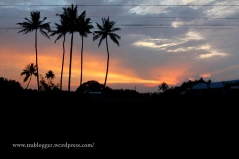 coimbatore, twilight, evening sun, sun set