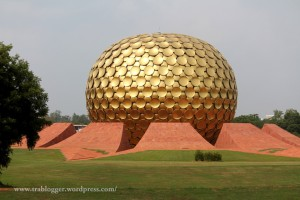 The Matri Mandir, Auroville