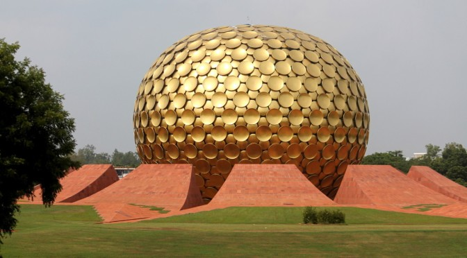 The Matri Mandir, Auroville