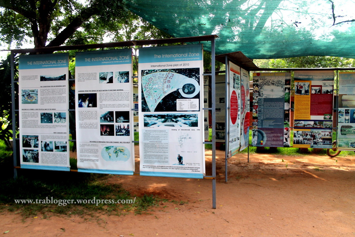 Information on various Pavilions in Auroville
