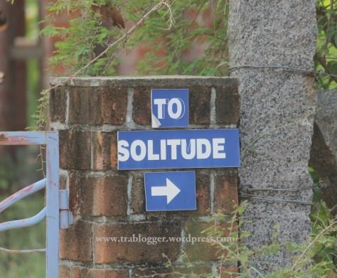 To Solitude