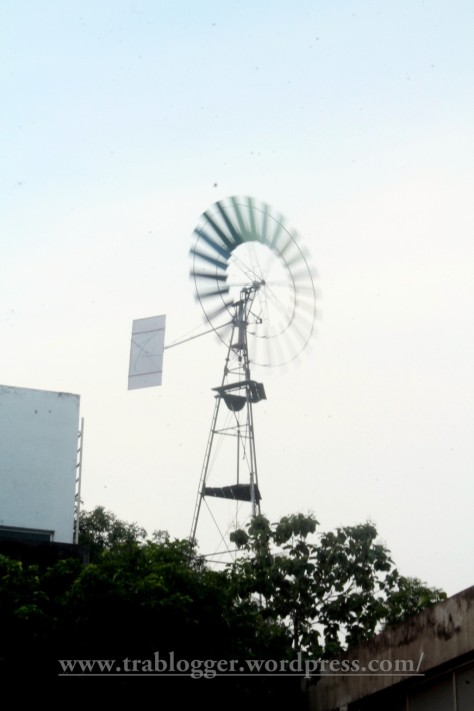 The Windmill of Auroville