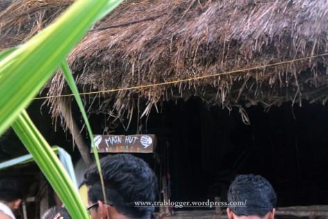Main hut of Sadhana