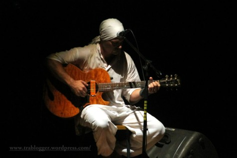 A guitar performance