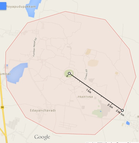 Auroville Map