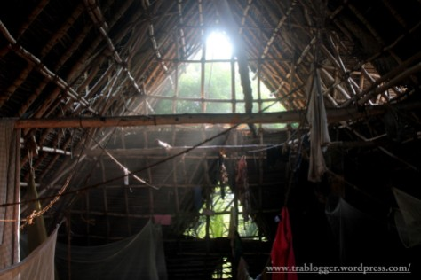 Inside the accomodations