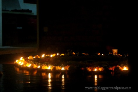 The diwali celebrations