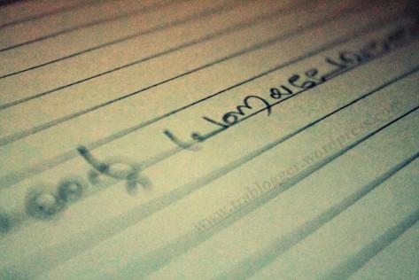 Write something beautiful today
