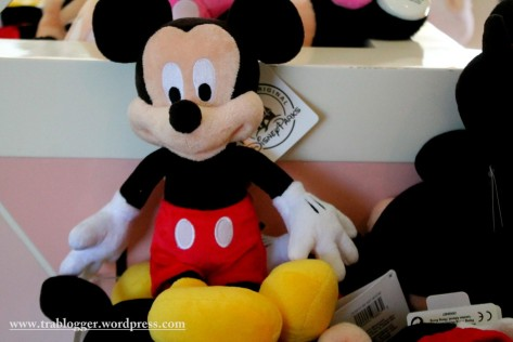 The cute little mickey mouse