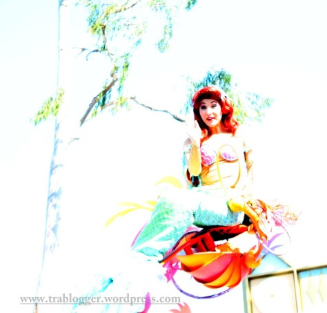 The over exposed  little mermaid