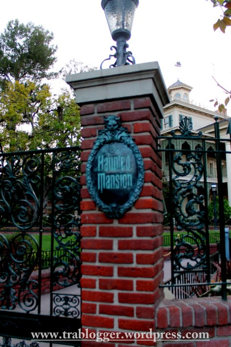 And here it is, the haunted mansion