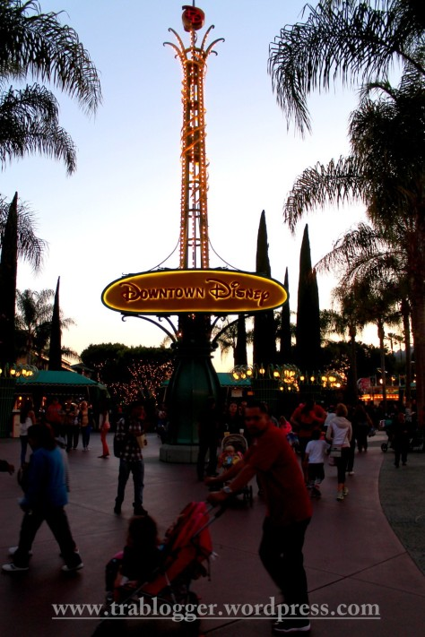 And there comes to an end to the Disneyland adventure