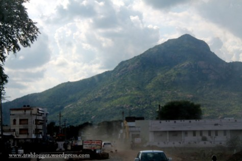 Until i reached Thiruvannamalai
