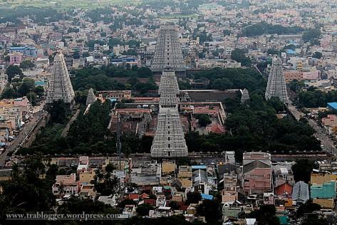 Annamalaiyar temple towers