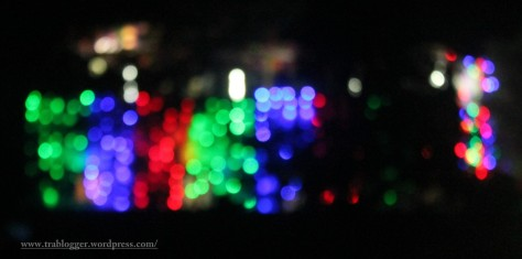 Bokeh from the procession