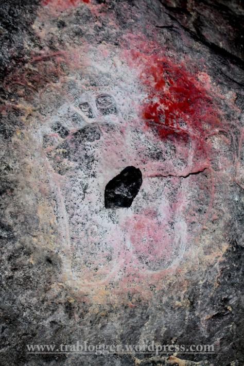 Footprints of Lord Shiva