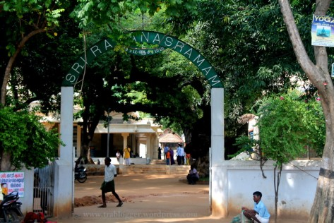 Sri Ramanashram : Starting point
