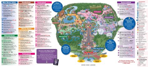 The Disney map