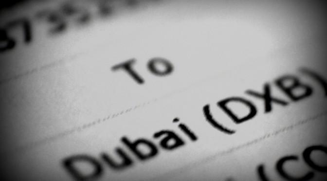Trablogger goes to Dubai