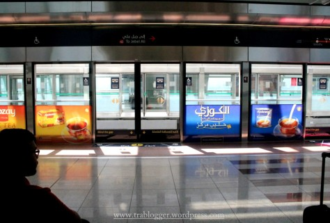 First encounter with Dubai Metro