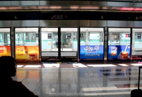 First encounter with Dubai Metro