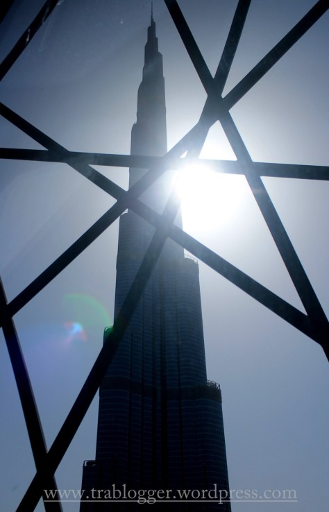 Another first: First shot of Burj Khalifa