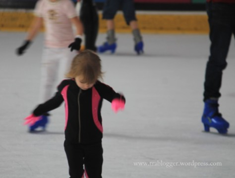 Dubai ice skating rink