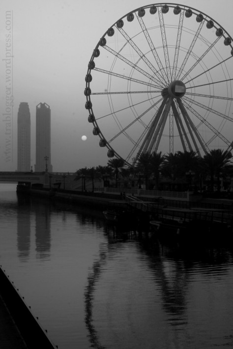 And enjoy the beauty of Qanat al-Qasba