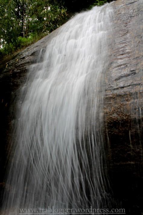 Free flowing water