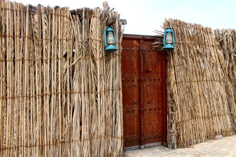 Houses made out of Palm leaves