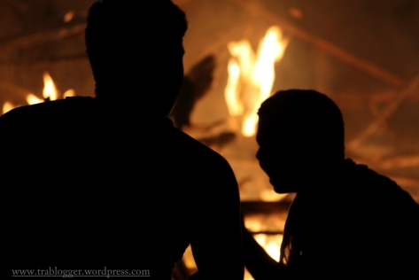 Fire Silhouette