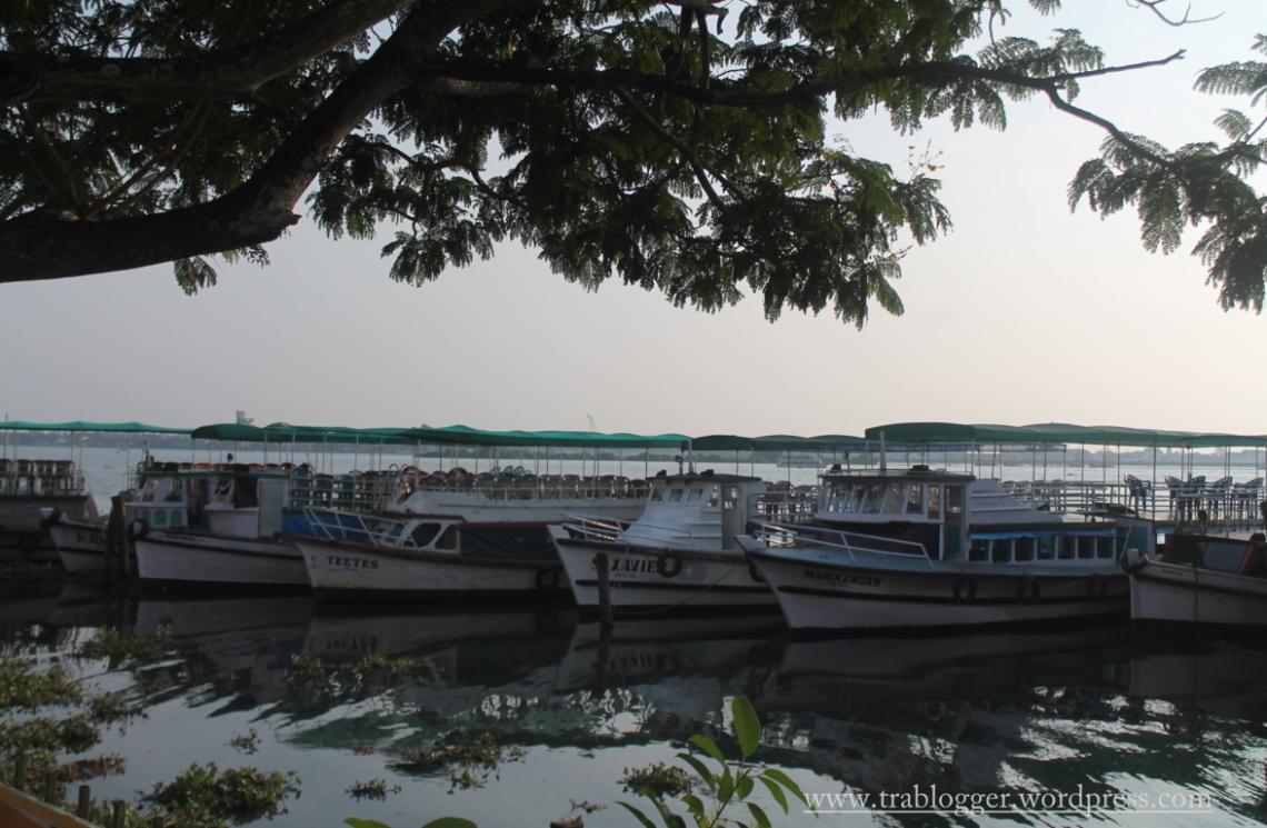 Boats at Cochin