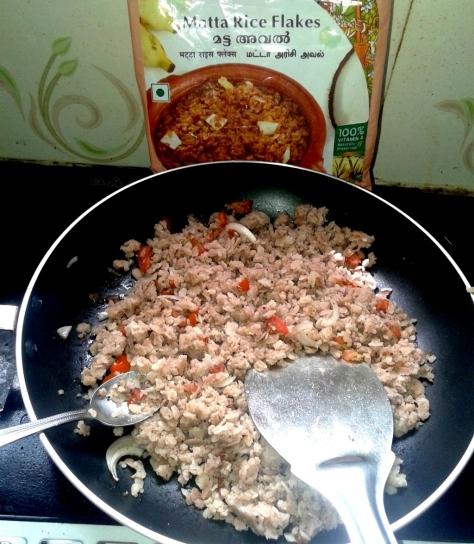 matta rice flake Upma