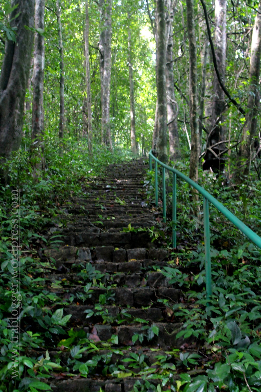 Steep steps leading to infinity, again!
