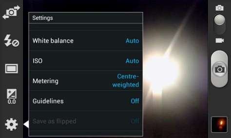 Initial settings at Auto