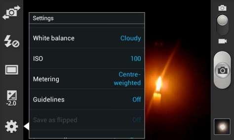 White Balance : Cloudy