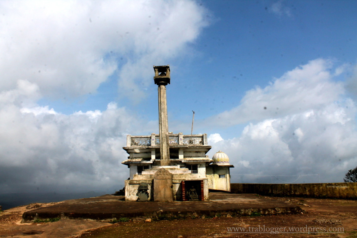 17th Century Jain temple at the top of Kundadri hills