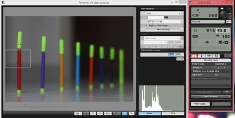 Shutter Speed 1/15; f/2.8, ISO 100