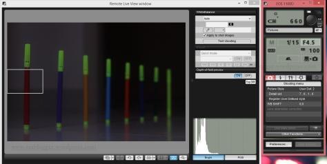 Shutter Speed 1/15; f/4.5, ISO 100