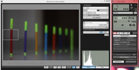 Shutter Speed 1/45; f/1.8, ISO 100