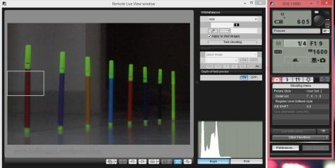 Shutter Speed 1/4, f/19, ISO 1600